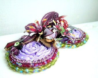 Purple Passion - OOAK hairband - Ready to ship x