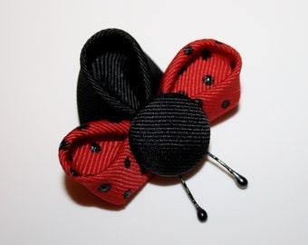 Kanzashi Ladybugs - PDF Tutorial