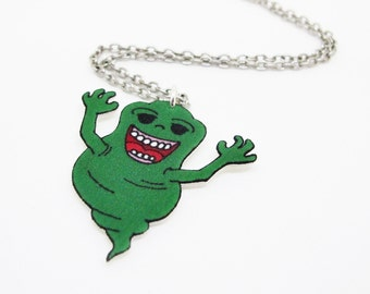Slimer Ghostbusters Necklace
