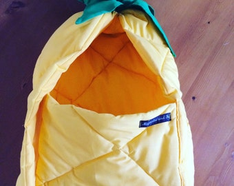 Pineapple pram sleeping bag