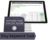 Etsy Keyword Analysis Tool - Best Tags on Etsy, Better Etsy Search Terms, Etsy Market Research Tool, Top Etsy Searches, New Application