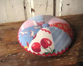 Vintage Quilt Pincushion