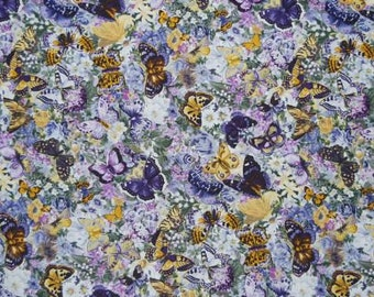 "Fabric - Butterflies - Butterfly - ""Atfernoon Splendor"""