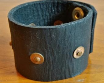 Vintage Leather Wrist Cuff