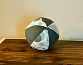 Fabric Ball - Baby Ball - Gray - Blue - Neutral