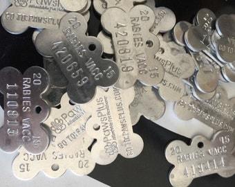 Dog Tags By the Pound Supplies for All Kinds of Creations