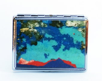 CIGARETTE CASE, WALLET, Subway Paint Case