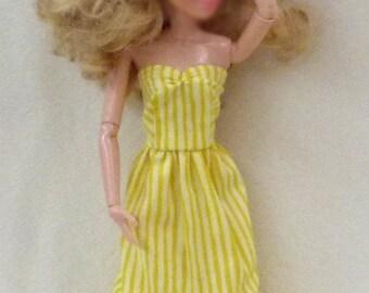"11.5"" Fashion Doll Clothes - yellows"