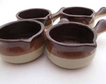 Butter Warmer, vintage small crock, Stoneware Bowls, Olive Bowl, dipping sauce bowls, sauce bowl, dipping bowl, mini crock