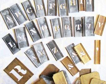 One Girl Print Shop...Terrific Vintage Stencils