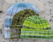 PDF PATTERN for Hallgrimur Hat - Traditional Beanie With Simple Details - Instantly Downloadable .PDF File Knitting Pattern
