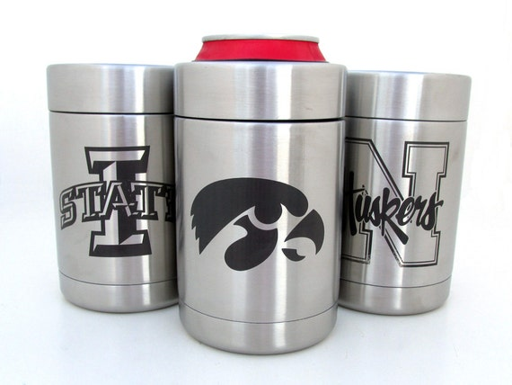 Stainless Steel Can Cooler ~ Stainless steel drink cooler choose your by memoriesforlifesb
