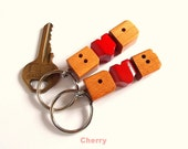 """Valentine's Day Special -  Initials """"Heart Fob"""" Keychain"""