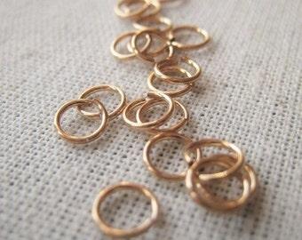 14K Gold Filled Jump Ring 4 5mm Open Ring 22 Gauge Jump Item No. 8630 5169