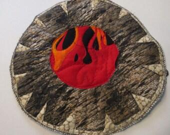 Cowboy Campfire Coffee Break Campfire - FREE SHIPPING - Approx 12 inch Diameter