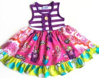 Shopkins dress by pink momi boutique