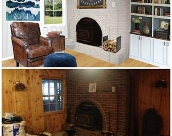 Custom Virtual Interior Design via Photo Makeover E-Design