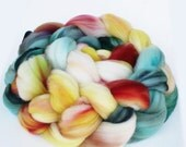 "Superwash Merino Wool Spinning Fiber, 4 oz, ""Vista"""