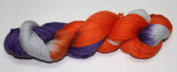 All Hallow's Eve Hand Dyed Sock Yarn