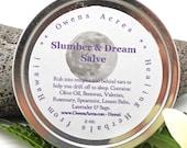 Dream and Sleep Salve - Get your ZZZ's, Sleep, Herbal Salve, Skin Salve, Valerian, Calming, Night Time, Drift Off to sleep