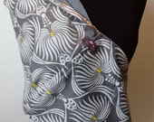 Baby Sling  Baby Carrier - Dahlia Gray