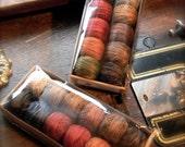 Designer Valdani Pearl Cotton #8 collection - WINTER from Notforgotten Farm