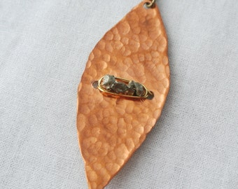 Gia - Gold and Copper Long Necklace