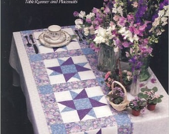 A Star for all Seasons - Table Runner and Placemats