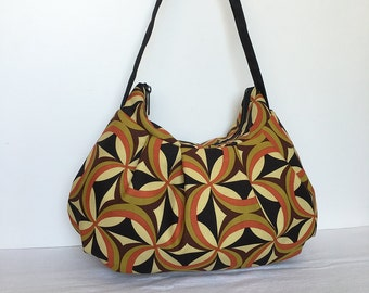 Pleated Bag // Shoulder Purse -  Kanvas Ecco Centric Olive