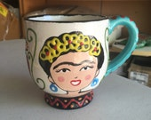 Jumbo Frida Mug - Fired Ceramics