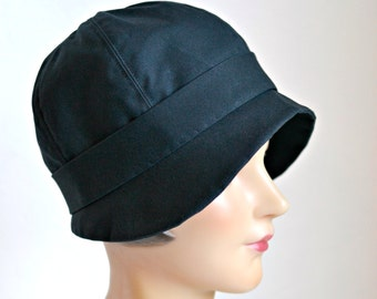 Waxed Canvas Rain Hat - Made To Order - 4 to 6 WEEKS FOR SHIPPING