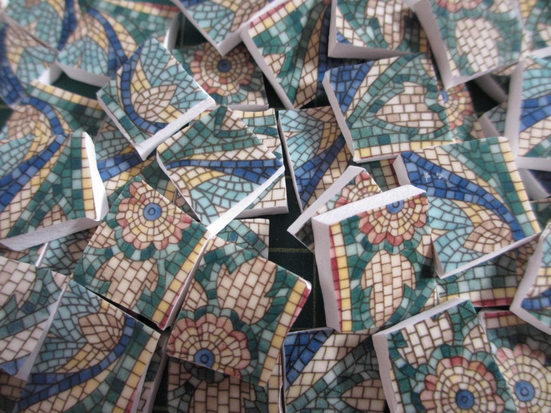 120 China Mosaic Tiles Mikasa San Marco Mosaic Look