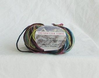 yarn, trendsetter yarn, summit 4209, tube, multicolor, C, destash