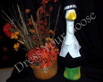 Male Pilgrim Outfit (Black) by Dress Your Goose