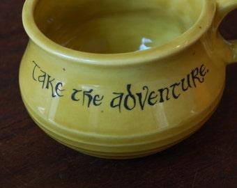 Take the Adventure Handmade Ceramic Mug