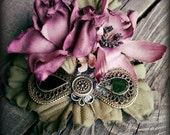 Mist and Filigree - Fae ATS or Tribal Fusion Belly Dance Hair Clip