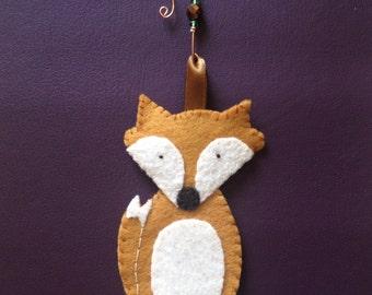 orange fox felty with hook