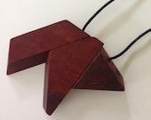 "Jarrah geometric bead necklace Custom Listing for Lani ""Honeyfur"""