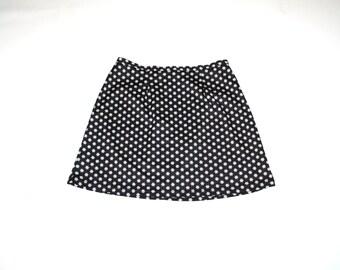 early 90s DAISY print skirt vintage 1990s CLUB KID floral mini skirt small