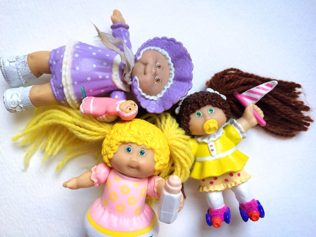 cabbage patch kids figurines