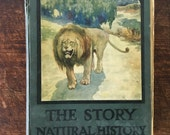 Rare Antique The Story Natural History Book Ethel Talbot