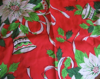 lovely bells christmas linens