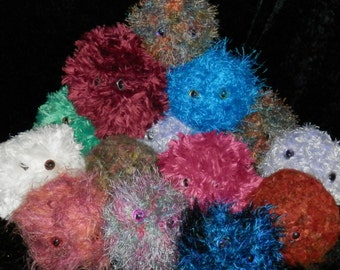 WILL o'the WISP Party FAVOR Plushie Gifts, Handmade, Group of 10