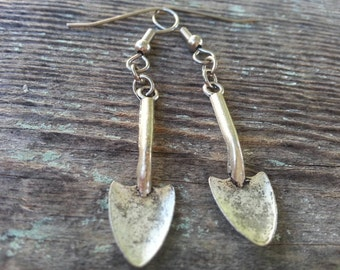 Garden Girl Shovel Earrings