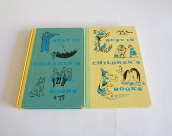 Best In Children's Books  1958 and 1959