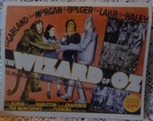 RESERVED FOR magswheels2002 ONLY! Wizard of Oz Movie Poster Reproductions on 10 inch x 8 inch paper