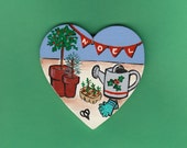 Gardening Heart Ornament