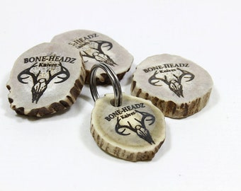 Deer Antler Key Ring,Personalized Keyring,Engraved Keyring,Custom Key Ring,Keychain
