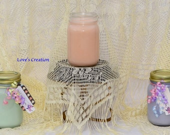 16 oz Soy Lotion Treasure Candles burn as a candle then apply to skin med candle