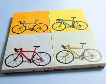 Bicycle Coaster Set